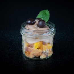 Nougat-Triffle / Orange - Ansicht